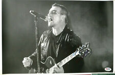 Bono U2 * In Concert * Signed 8 X 10 Photo Autographed Psa/Dna Certified