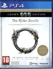 The Elder Scrolls Online Tamriel Unlimited PS4 Crown Edition New Sealed.