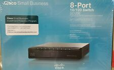Cisco Small Business 8-port 10/100 Switch SD208 Up to 200Mbps