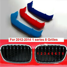 BMW M SPORT GRILL 3 COLOUR COVER SPORTS STRIP 1 SERIES - F20 F21 8 Grills 12-14