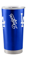 Los Angeles Dodgers Travel Tumbler 20oz Ultra Blue/Silver (Free Shipping)
