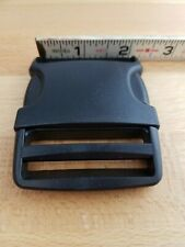 UTX Flex Stealth 2 Inch Side Release Black Plastic Buckles Set of 5