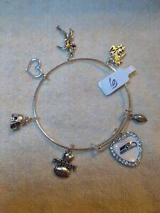 Seattle Seahawks Custom Expandable Charm Bracelet NEW