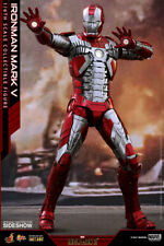 MARVEL Iron Man Mark V 5 Sixth Scale Action Figure Hot Toys DIECAST MMS400 D18