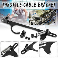 4150 4160 Serie Black Billet Aluminum Throttle Cable Carb Bracket Carburetor 350