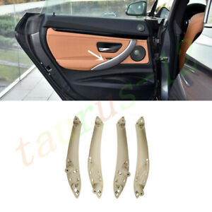 4Pcs Interior Door Pull Handle Trim Cover Replace For BMW 3/4-Series GT 2012-18
