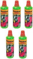 # Blumendünger mit Guano Naturdünger Gartendünger 5x 1L Flüssigdünger 5 Liter