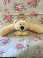 Plush  Teddy Bear  Head Coat  Hanger - Child Nursery Teddy Collector