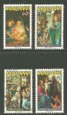 Malawi 1997 Christmas/Art--Attractive Topical (671-74) used