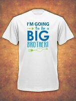 I'm going to be a Big Brother Birthday Present Childrens  T-shirt kids II