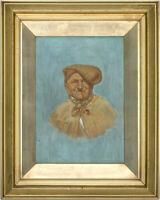 Follower of Carlo Ciappa  - Early 20th Century Oil, Portrait of an Italian Man