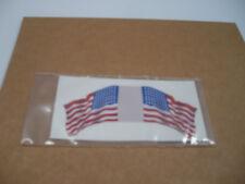 MARX BATTLEGROUND EUROPEAN PLAY SET DECAL STICKER 48 STAR US HAND MADE FLAG