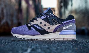Saucony x Sneaker Freaker Grid SD Kushwacker Purple Black kith S70191-1