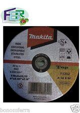 Makita Dischi Da taglio 50 Pz mm 230x2x22,23 taglio inox