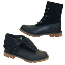 Timberland Authentics Roll Top Boots Lace up Boots Women Ankle Boots 8305A