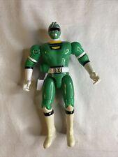 Vintage Power Rangers - Turbo Green Ranger Action Figure Bandai 1997 Rare!