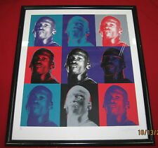 Michael Jordan Nike Collage 24x27 Litho 58/723, Only 200 Signed By Artist