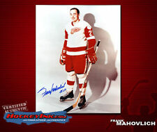 Frank Mahovlich SIGNED Red Wings 8X10 Photo -70084