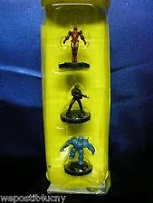 Marvel HerosClix Classics Iron Man Iron Monger Nick Fury Figure Cake Toppers ?