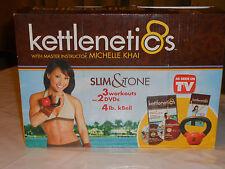 Kettlenetics for Women 4 DVD & 4lb Kettlebell set - GREAT REVIEWS! - Kettlercise