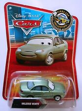 Disney Pixar Cars Valerie veate Final Lap Collection MEGA RARE UK!!!
