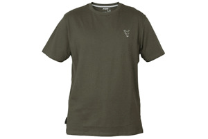 Fox Collection Green Silver T-Shirt Tee *All Sizes* NEW Carp Fishing Clothes