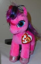 """Ty Beanie Boos ~ RUBY the 6"""" Little Pony Horse ~ 2018 NEW with Tags ~ IN HAND"""