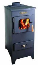 de leña estufa chimenea 4 DIRECTO calefacción metalik Mini hierro fundido TOP