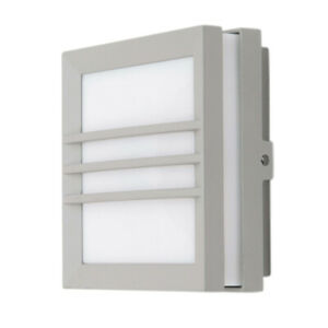 Crompton Square 11W Grey Wall Light