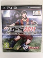 PES Pro Evolution Soccer 2011 (3) (Sony PlayStation 3, PS3) - Complete 2010