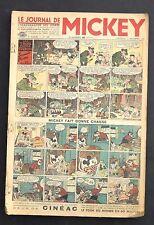 lot journal de Mickey n°109 à 151 - 1936 / 1937. Numéros extraits de reliure