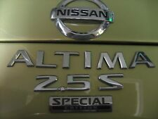 NISSAN ALTIMA 2.5 S SPECIAL EDITION EMBLEM WITH LOGO
