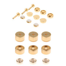 Trumpet Finger Buttons Cap Screw Cover for Brass Instrument Repair Parts