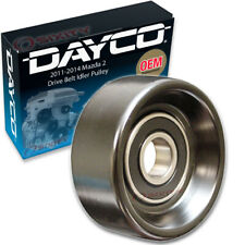 Dayco Drive Belt Idler Pulley for 2011-2014 Mazda 2 - Tensioner Pully tm