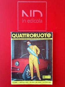 ORIGINALE QUATTRORUOTE 23 DICEMBRE 1957 - LANCIA APPIA  CORVETTE  FIAT 1100