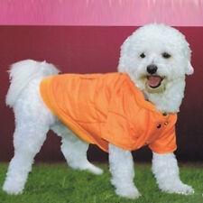 Artículos de color principal naranja de poliéster para perros