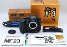 Exc+++++ Nikon F4s 35mm SLR Film Camera Body w/ Strap, MF-23 BOXED From Japan