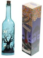 Fairy Tree Dream Decorative Vintage Bottle With LED Light String Lamp 0.6W Blue