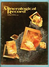 Mineralogical Record Magazine, Vol. 3 No. 6, Nov-Dec 1972, 79 Mine, Gila Co, Az