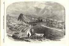 1855 Hillside Vista sulla città di Kars