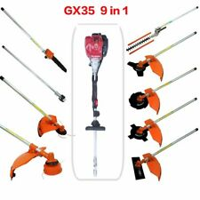 Multi GX35 4-strokes 9 in 1 Multi brush cutter grass trimmer lawn mower pruner