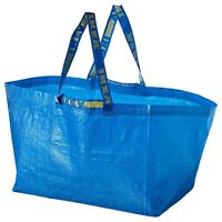 IKEA LARGE BAG Shopping Grocery Laundry Storage Tote ECO Bags Strong FRAKTA 19gl