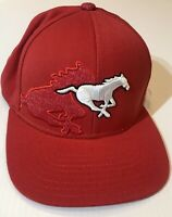 New Calgary Stampeders CFL Reebok Authentic Sideline S/M Hat