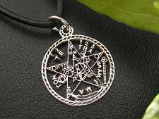 Tetragrammaton 925'er Silber Ketten Anhänger Gothic  / KA 087