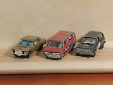 Set 3 CARS 70's - IMPERIAL HIGHWAY PATROL + YATMING Van + SUMMER Mercedes 240 D