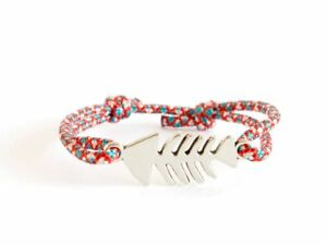 Fish Bracelet Mens Cuff Knots Lucky Rope Women Nautical Knots Tibetan