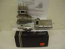 NEW Aviastar 1.20 RC 2 Stroke Glow Engine w/J'Tec Pitts Style  Muffler