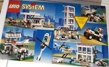 LEGO 6398 SYSTEM Rescue Central Precinct HQ - with instructions - 606 pieces!