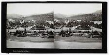 Monaco Monte-Carlo Hôtel Victoria de Russie Plaque stéréo attr. à Ferrier c 1860