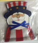 Dr Daniels Catnip Filled Felt Cat Toy Patriotic Uncle Sam 1 Pack Made In America